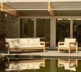 Traditional Teak MAXIMA lounge chair _