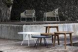 Oasiq ATTOL teak side table 60 x46cm_