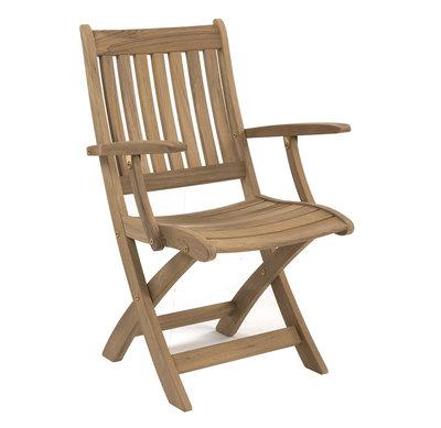 Ocean folding armchair (Edelstahlbeschläge)