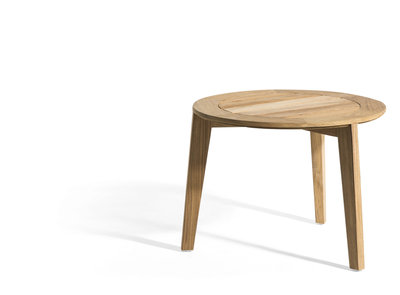 Oasiq ATTOL teak side table 70x36cm