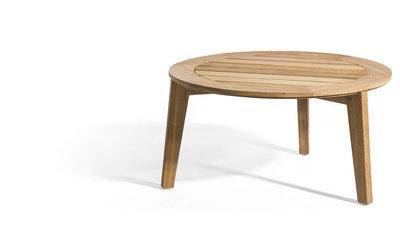 Oasiq ATTOL teak side table 60 x46cm